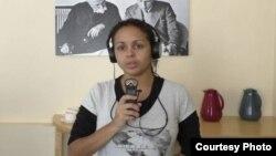 La periodista independiente Anay Remón fue una de las víctimas del acoso del régimen.