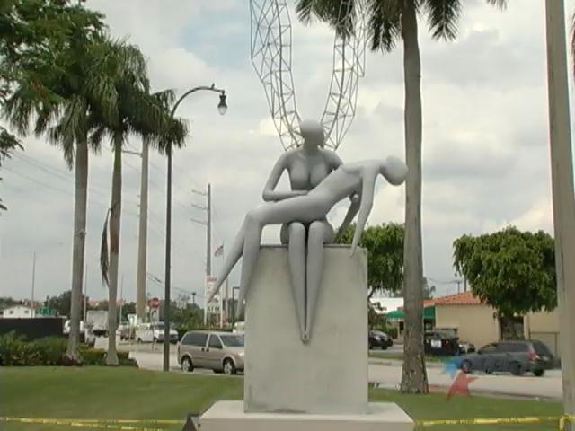 En Hialeah una obra de Rafael Consuegra rinde tributo a Zapata Tamayo