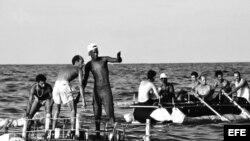 La crisis de los balseros cubanos de 1994 en fotos