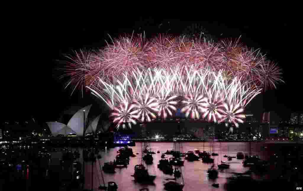 Celebraciones de año nuevo - Sidney