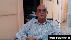 El periodista cubano Roberto Jesús Quiñones Haces. (Captura de video/ADN Cuba)