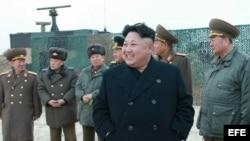 Fotografía sin fecha cedida por el periódico Rodong Sinmun, el diario de partido gobernante de los Trabajadores de Corea del Norte.