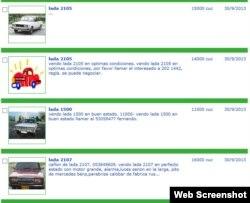 Las trabas a la compra de autos usados a través del Estado han disparado las ventas independientes --y los precios-- en internet.