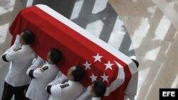 Funeral del ex premier de Singapur Lee Kuan Yew.