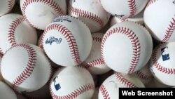 Pelotas de Grandes Ligas. Tomado del Twitter de los Padres de San Diego.