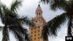La Torre de la Libertad ubicada en la Ciudad de Miami.