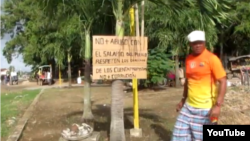 Reporta Cuba octavillas y pancartas en Camagüey.