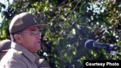 El general Pedro Mendiondo