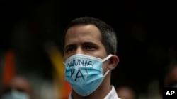 El líder opositor venezolano Juan Guaidó. (AP Photo/Ariana Cubillos)
