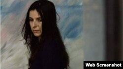 Lynn Cruz en una escena de Corazón Azul, de Miguel Coyula.