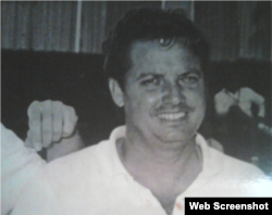 Reynaldo Garrido, en la década de 1950.