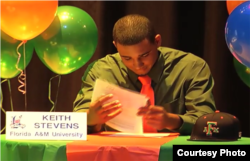 Keith Stevens, Florida A&M University.