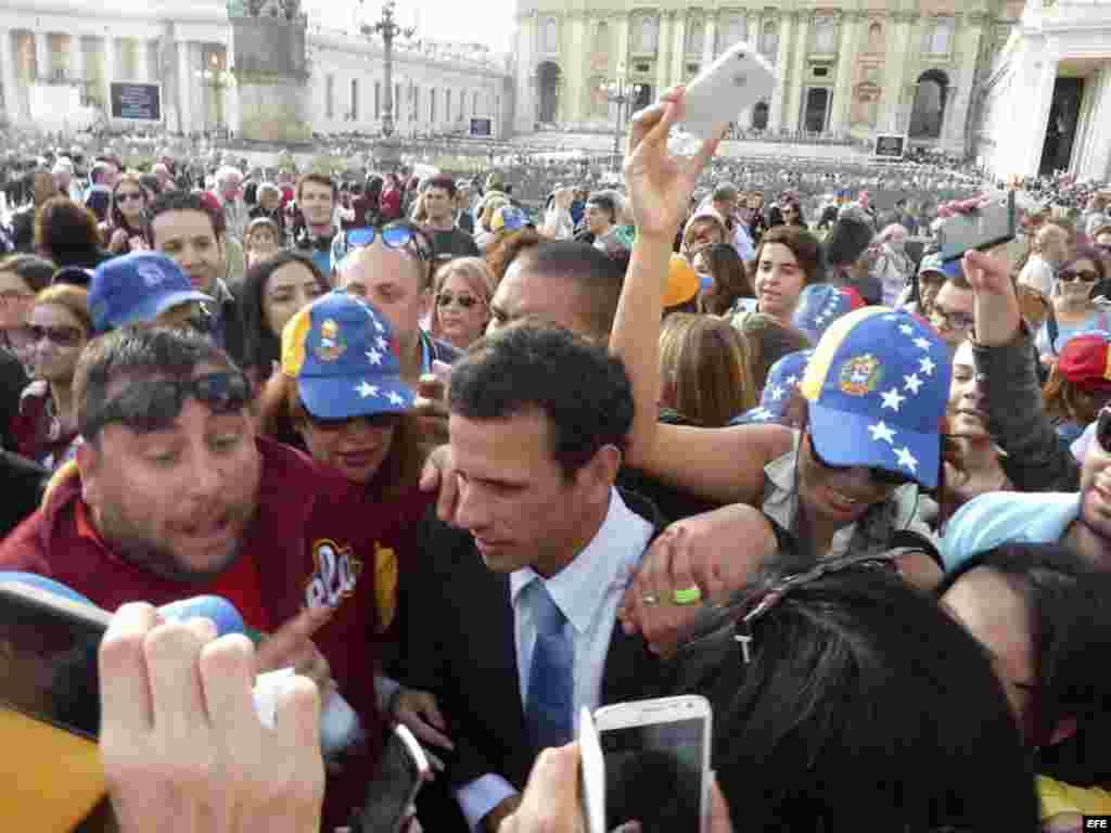 ITALIA PAPA VENEZUELA - Henrique Capriles