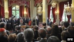 Juramentación de Hollande