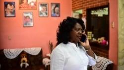 Dama de Blanco Berta Soler agradece al senador Rick Scott