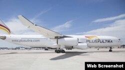 Avión de la compañía española Plus Ultra.