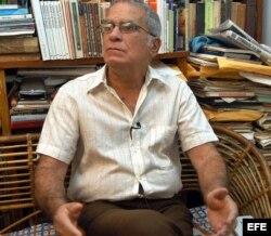 El economista Oscar Espinosa Chepe.