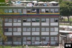 Vista parcial de los pabellones de la cárcel de Yare en el Estado Miranda.