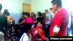 foto/ JC Oliva/ Cuerpo de Guardia del Hospital Provincial Manuel Ascunce Domenech