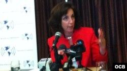 Roberta Jacobson, subsecretaria de Estado Adjunta.