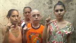 Familia Miranda Leyva denuncia el acoso que han sufrido esta semana