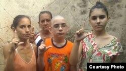 La familia Miranda Leyva ha sido víctima de agresiones. (Foto cortesía de la familia).