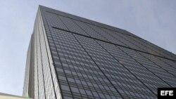 La Torre Corporativa de Petróleos Mexicanos (PEMEX), ubicada en Ciudad de México.