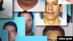 Mugshots de delincuentes cubanos en EE:UU: