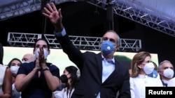 El candidato Luis Abinader. REUTERS/Ricardo Rojas