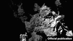 La presencia de vapor y de agua congelada es común en la superficie de los cometas.