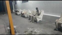 Desamparadas pernoctan en la terminal de Santa Clara