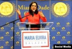 María Elvira Salazar. Tomado de Instagram @maelvirasalazar