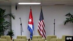Vista general de la sala del Palacio de Convenciones de La Habana.