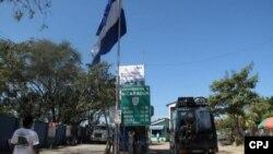 Peñas Blancas, en la frontera de Costa Rica y Nicaragua.
