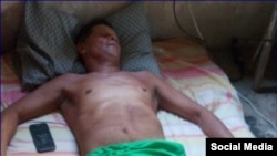 Guillermo del Sol lleva más de un mes en huelga de hambre. (Foto: Facebook)