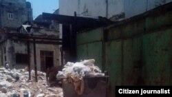 Invasión de ratas y cucarachas en edificio de la Habana Vieja
