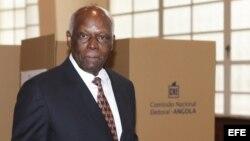 El presidente de Angola, José Eduardo dos Santos.