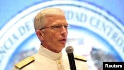 El almirante Craig Faller, jefe del Comando Sur.
