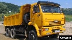 Camion Kamaz de fabricación rusa