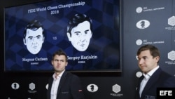 Primera derrota de Carlsen ante Kariakin, en Nueva York.