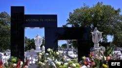 Los restos de Fidel Castro Díaz-Balart fueron sepultados en el panteón de la Academia de Ciencias de Cuba.