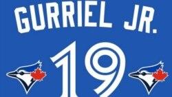 A Lourdes Gurriel Jr. le va bien, de 5-3 en un juego de las Grandes Ligas!