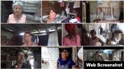 Fotos de Sol García Basulto / Familias de Canagüey necesitadas de ayuda inmediata