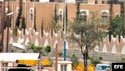 Foto de archivo de la embajada estadounidense en Saná, la capital de Yemen.