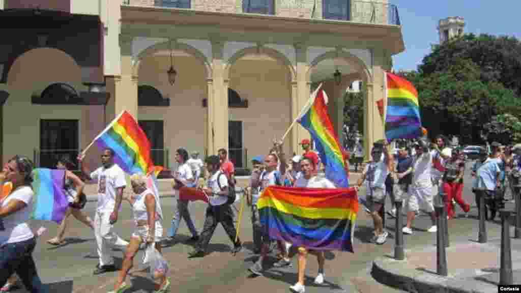 Paseo LGBT - Marcha gay en Cuba Foto/ Pedro Luis
