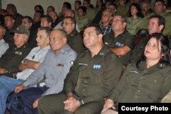 Militares cubanos del MININT y PNR
