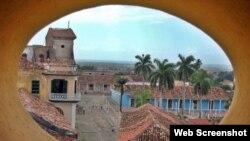 Trinidad, una de las primeras villas fundadas en Cuba y fuerte receptora del turismo a la isla.