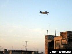 Fumigación Habana / foto Mario Hechavarría