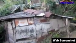 Reporta Cuba. Casas en riesgo de derumbe.