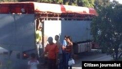 Reporta Cuba. Transporte.